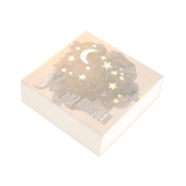 """Kleine Lichtbox """"Sternstunden"""""""