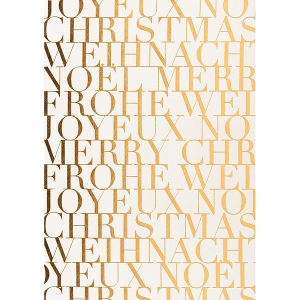 """Geschenke des Himmels - Postkarte """"Frohe Weihnachten, silber/weiß"""""""