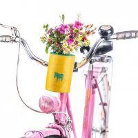 Fahrradtasche für Flaschen - Bottle Bag Türkis / Gelb