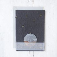 "Trauerkarte ""Sonne & Sterne"""