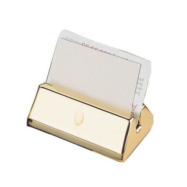 Visitenkartenhalter - 23-Karat vergoldet