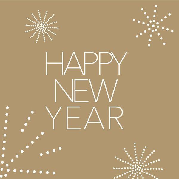 """Servietten """"Happy new year"""""""