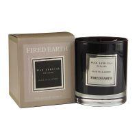 FIRED EARTH Collection - Duftkerze im Glas Schwarzer Tee & Jasmin 55 h