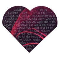 Herz Servietten - Liebe ist der stärkste Zauber...
