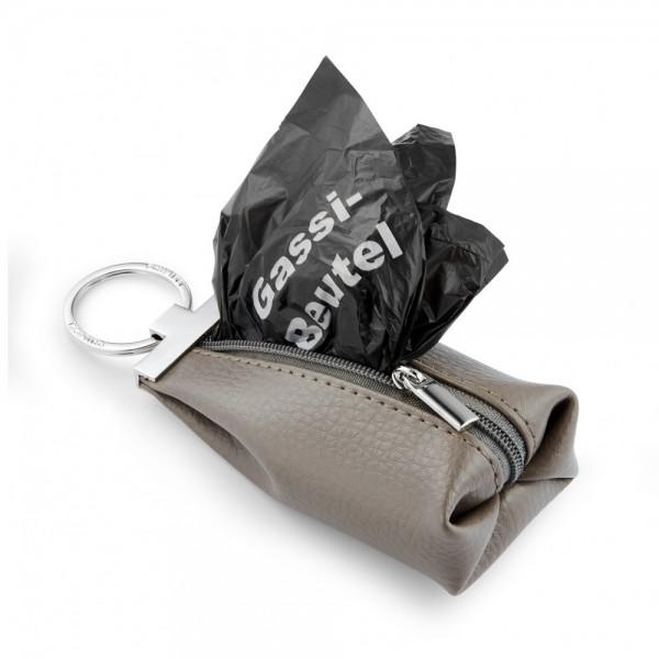 Schlüsselanhänger DION mit Gassibeutel-Etui
