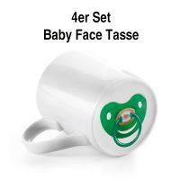 "Nasenbecher ""Baby Face"" 4er Set"