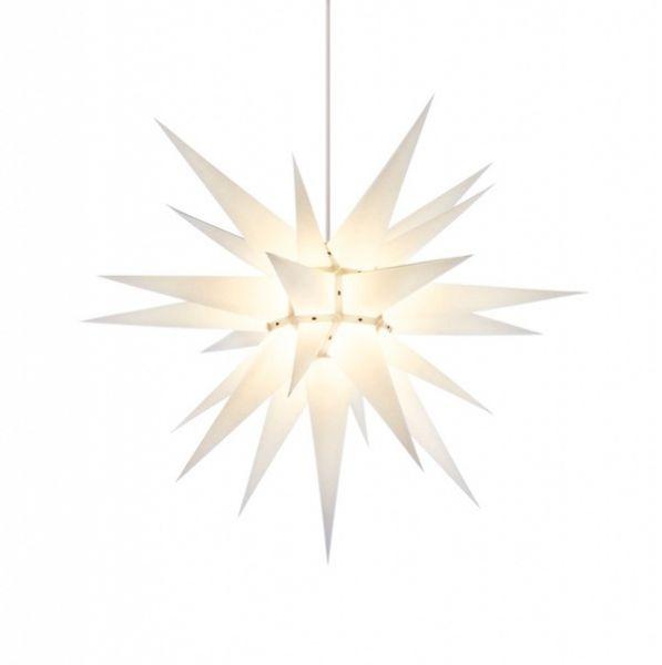 Herrnhuter Stern für Innen, Weiß 70 cm