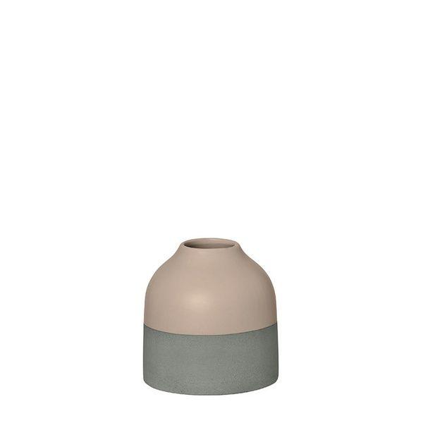 Steingutvase, 9 cm