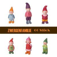 Kleine Zwergenglück-Familie im Set (60 Stück)