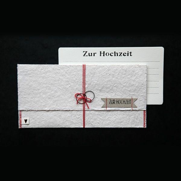 """Papier Post """"Zur Hochzeit"""""""