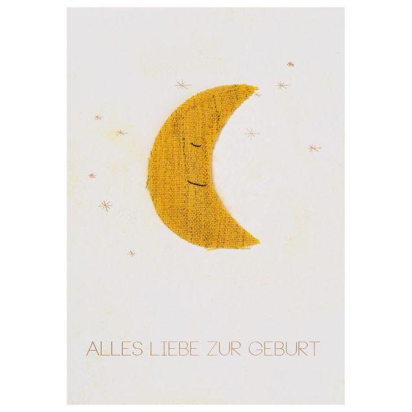"""Baby Kuschelkarte """"Alles Liebe"""""""