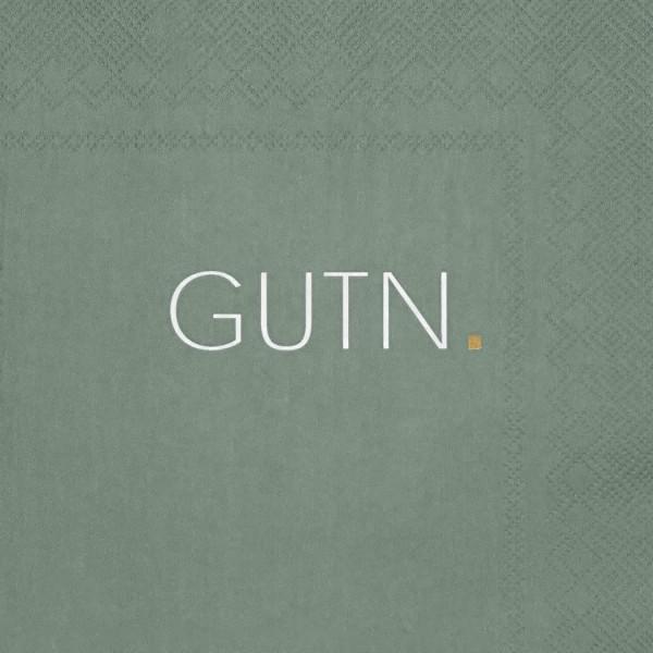 """Servietten """"GUTN"""", grün"""