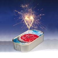 """Kuchen mit Wunderkerze """"Happy Birthday"""""""