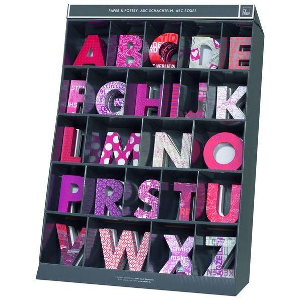 """Paper & Poetry ABC Schachtel """"Y"""""""