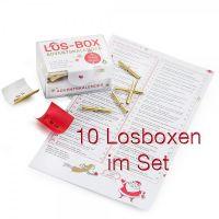 """Los-Box """"Adventskalender"""" 10er Set"""