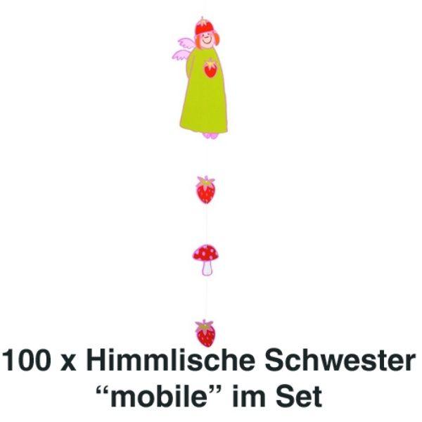 Himmlische Schwestern Mobile Pauline 100er Set