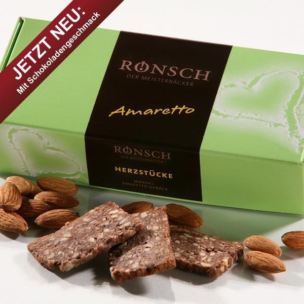 Mandel-Amaretto-Macadamia - Gebäck 100 g