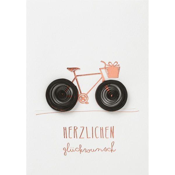 """Kreiskarte""""Herzlichen Glückwunsch"""""""