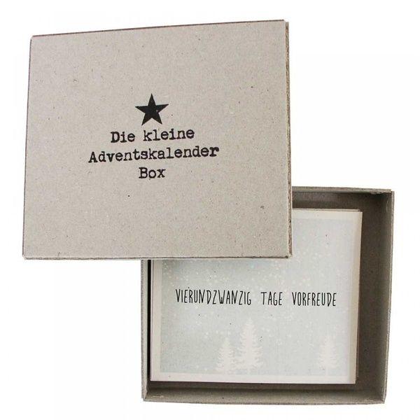 Adventskalender Schachtel
