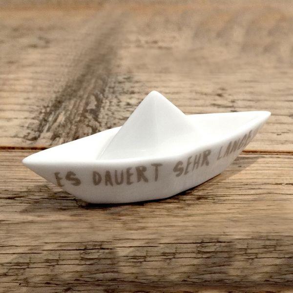"""Kleines Traumboot """"Es dauert sehr lange"""""""