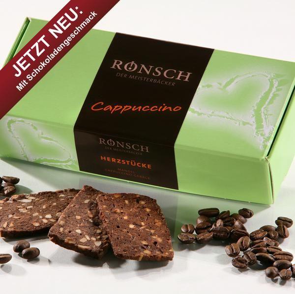 Mandel-Cappuccino-Macadamia - Gebäck 200g