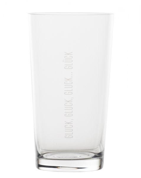 Wasserglas - Glück