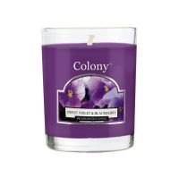 Fragranced Votive Sweet Violet & Blackberry 14 h