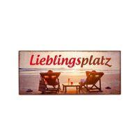 la vida - Metallschild - Lieblingsplatz