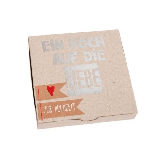"""Kartenbox """"Ein Hoch auf die Liebe"""""""