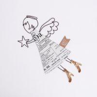 "Fliegende Engel ""Goldene Schuhe"""