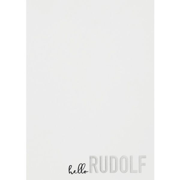 "Winterzeitpostkarte ""Hello Rudolf"""