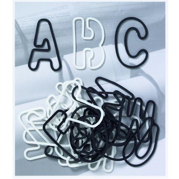 ABC Gummis, schwarz weiß
