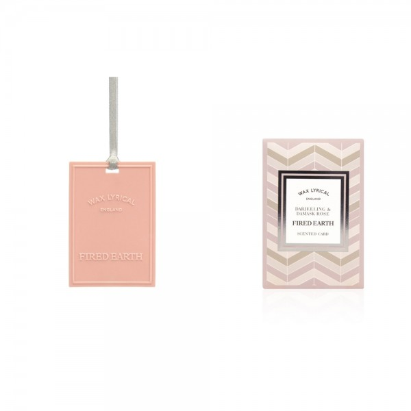 Scented Card - Darjeeling & Damask Rose
