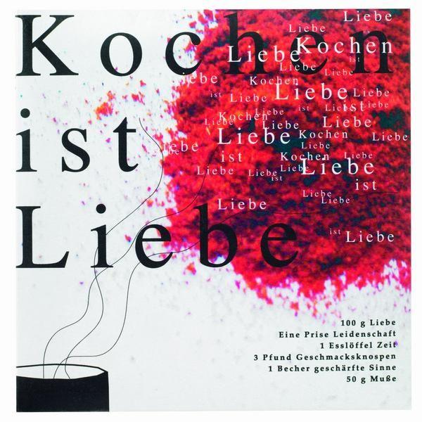 """Rezeptbuch """"Kochen ist Liebe"""""""