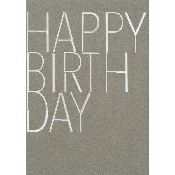 """Herrenkarte """"Happy Birthday"""""""