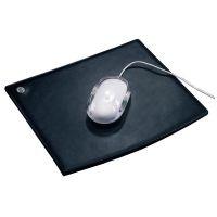 Mousepad Leder Black
