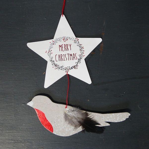 "Winter Luftpost ""Merry Christmas"""
