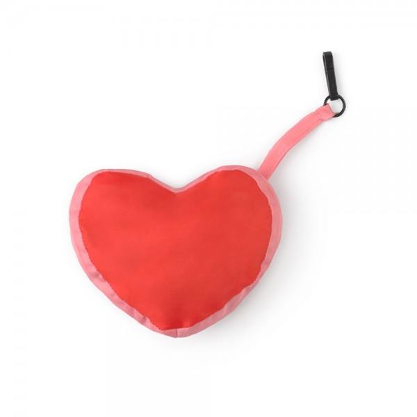 Go green Heart Einkaufstasche