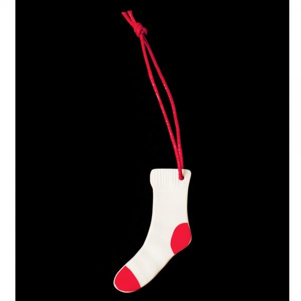 """MINI Winterschmuck """"Socke"""""""