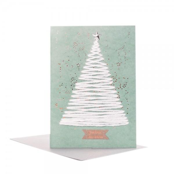 "Wollkarte ""Baum"""