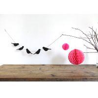 Deko Girlande - Vögel