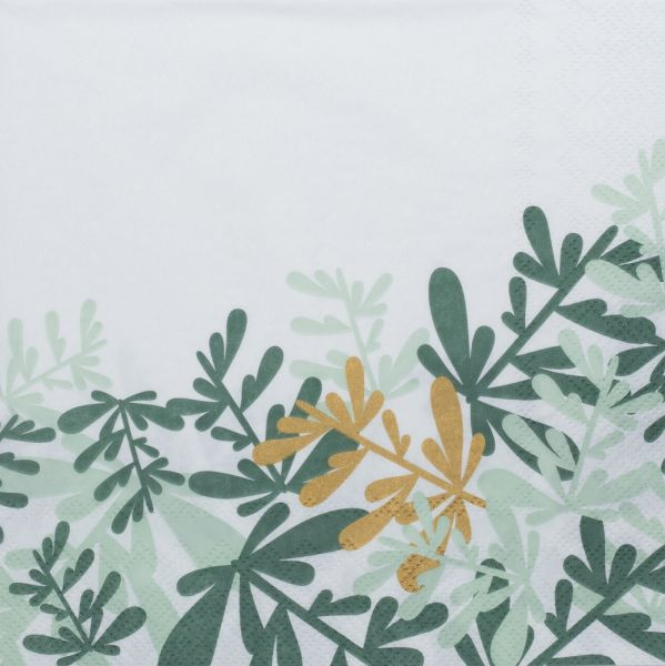 Serviette - Blätter