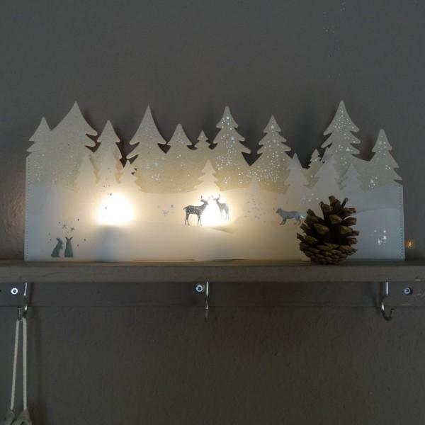 """Winterwelt """"Wald"""""""