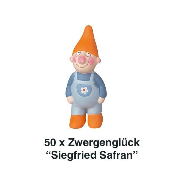 Räder, Zwergenglück - Siegfried Safran Mini 7cm 50er Set
