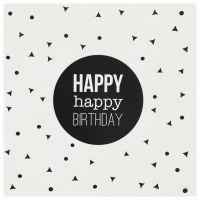"""Happy Day Postkarte """"Happy Birthday"""""""