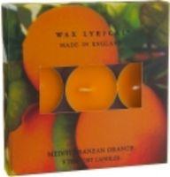 WAX LYRICAL 9 Teelichter -MEDITERRANEAN ORANGE-