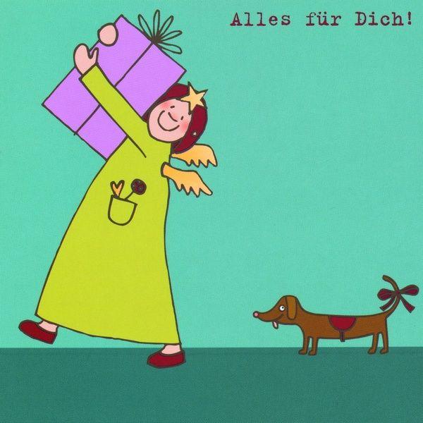 """Himmlische Schwestern - Postkarte """"Alles für Dich"""""""