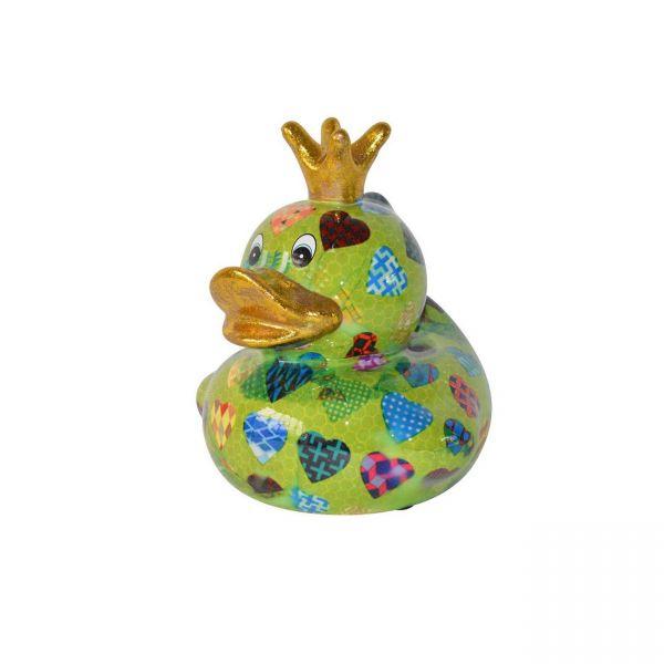 Ducky M - Grün mit Herzen