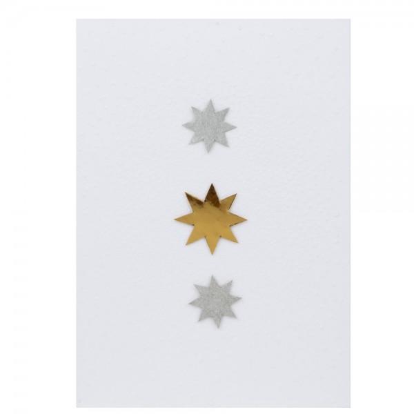 """Sternenkarte """"Drei Sterne"""""""