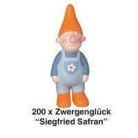 Räder, Zwergenglück - Siegfried Safran 13 cm 200er Set